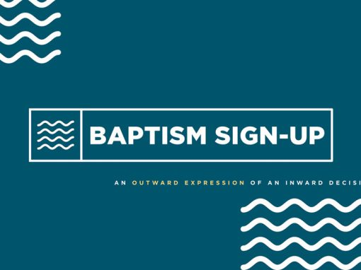 BAPTISM SIGN UP